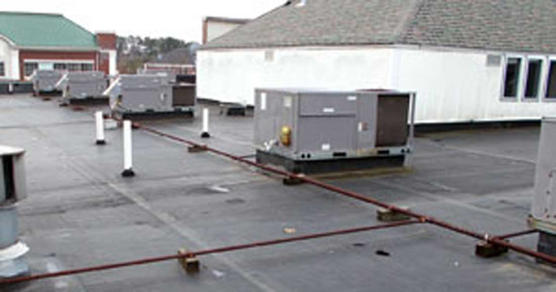 Roof preventive maintainence and planned maintenance programs